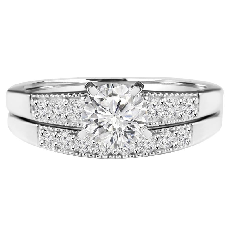 1 96 Ct Oval White Cubic Zirconia Engagement Ring 925